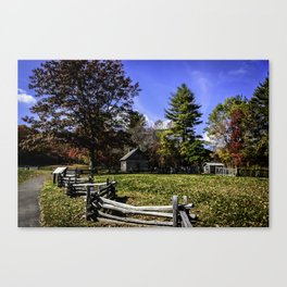 Fenced In Beauty in Virginia Canvas Print