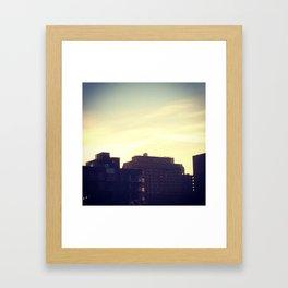 Neon MTL Framed Art Print