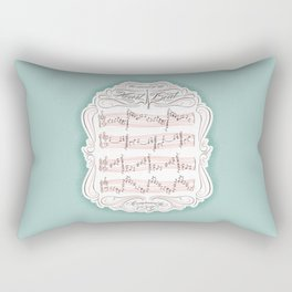 The Sound of My Heart Beat Rectangular Pillow
