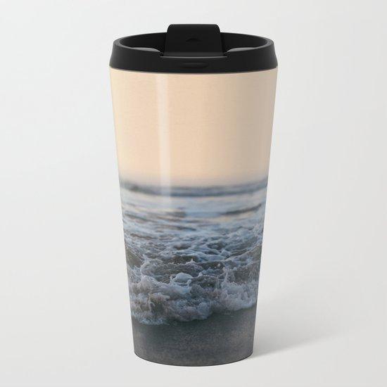 Sunrise Ocean Metal Travel Mug