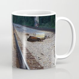 Deer Tracks Coffee Mug