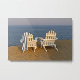 Beach Break Metal Print