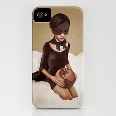 With Great Power iPhone (4, 4s) Slim Case