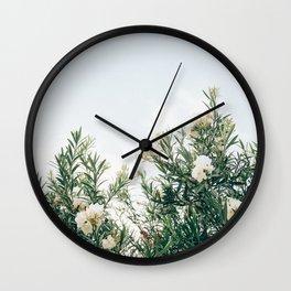 Neutral Spring Tones Wall Clock