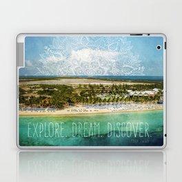 Explore. Dream. Discover. Laptop & iPad Skin