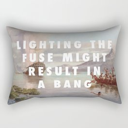 Lighting the Boyd Rectangular Pillow