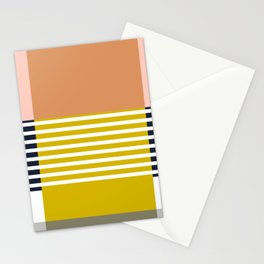 Marfa Abstract Geometric Print Stationery Cards