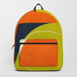 sun & moon abstract geometric shapes Backpack