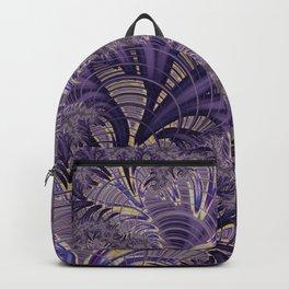 Violet Fractal Backpack