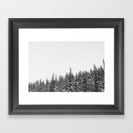 i-70 west Framed Art Print