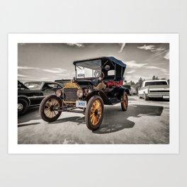 1916 Ford Model T Art Print