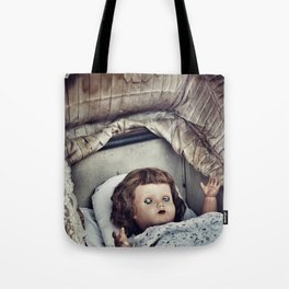 Haunted she is Tote Bag