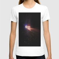 racing T-shirts featuring UFO Racing by Jorgenson Art Syndicate
