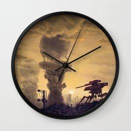 Vacuum Module Megastructures Wall Clock