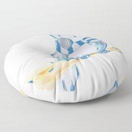 Row Floor Pillow