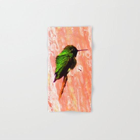 Hummingbird Hand & Bath Towel