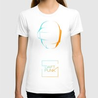 daft punk T-shirts featuring daft punk  by sgrunfo