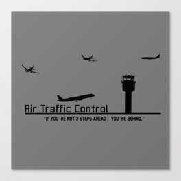 Air Traffic Control Canvas Print
