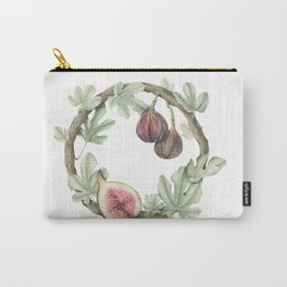 Fig Wreath Carry-All Pouch
