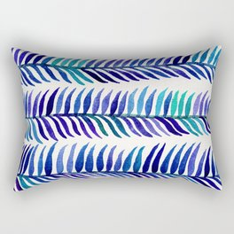 Indigo Seaweed Rectangular Pillow