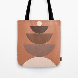 Abstraction_BALANCE_Bohemian_Minimalism_Art_001 Tote Bag