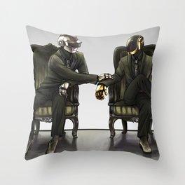 Hey, hey! Throw Pillow