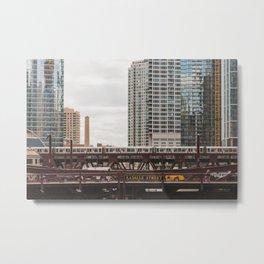 LaSalle Street - Chicago Photography Metal Print