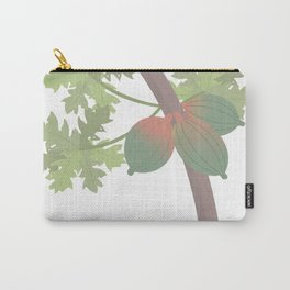 Majesty of the Papaya Tree Carry-All Pouch