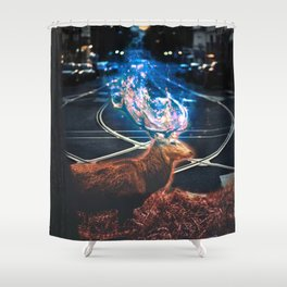 encroachment Shower Curtain