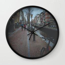 Mysterious Amsterdam Wall Clock