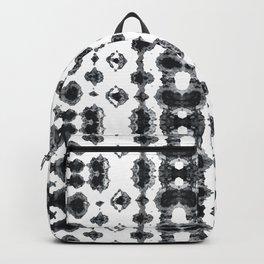Shibori Ikat Habotoi BW Backpack