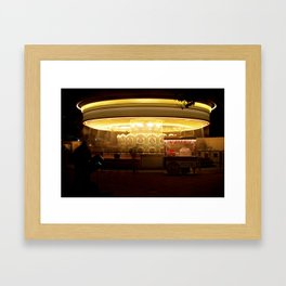 London Carrousel Framed Art Print