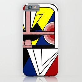 Roy Lichtenstein digitally remounted iPhone Case