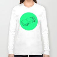 back to the future Long Sleeve T-shirts featuring Back To The Future by Jesse Pinkman