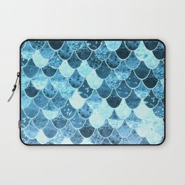 REALLY MERMAID SILVER BLUE Laptop Sleeve