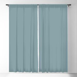 Aqua Blue Green Solid Color Pairs to Sherwin Williams Tranquil Aqua SW 7611 Blackout Curtain