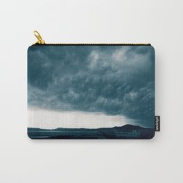 Stormy day in Pozzuoli, Bay of Naples, Italy Carry-All Pouch