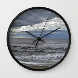Summer Morning Beach Wall Clock