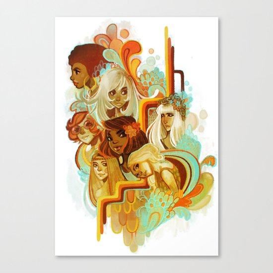 Disco Canvas Print