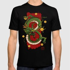 Dragon 2X-LARGE Black Mens Fitted Tee