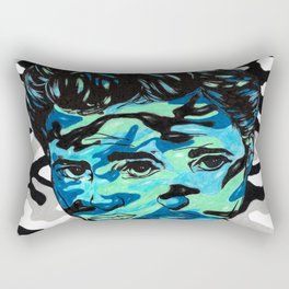 Marlon Brando: Double Vision Rectangular Pillow