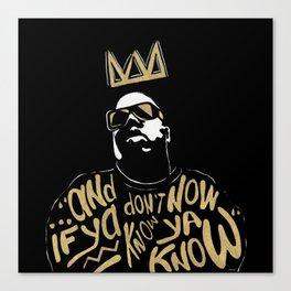 Brooklyn's King Canvas Print