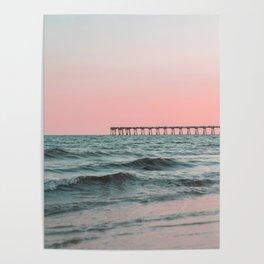 Pink Ocean Poster