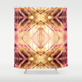 PINK SPANGLES no9-R1 Shower Curtain