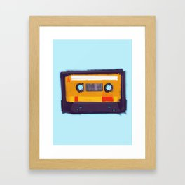 Cassette Framed Art Print