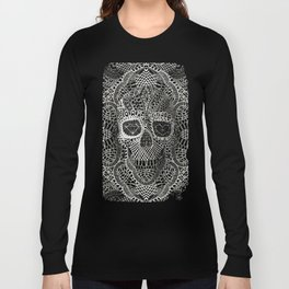 Lace Skull Long Sleeve T-shirt