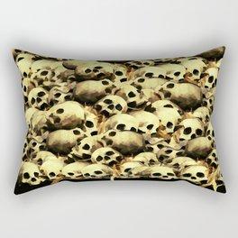 SKULL PILE 015 UP Rectangular Pillow