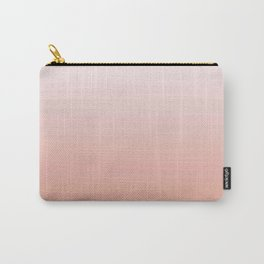 Just Peachy Gradient Carry-All Pouch