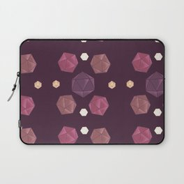 Red and Purple DnD Dice Laptop Sleeve