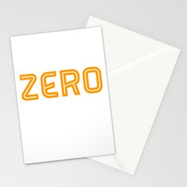 In Front Of You Is A Zero Stationery Cards